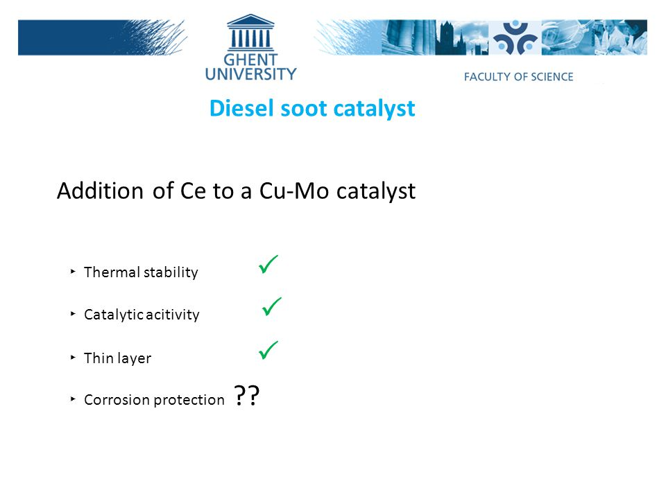Addition of Ce to a Cu-Mo catalyst
