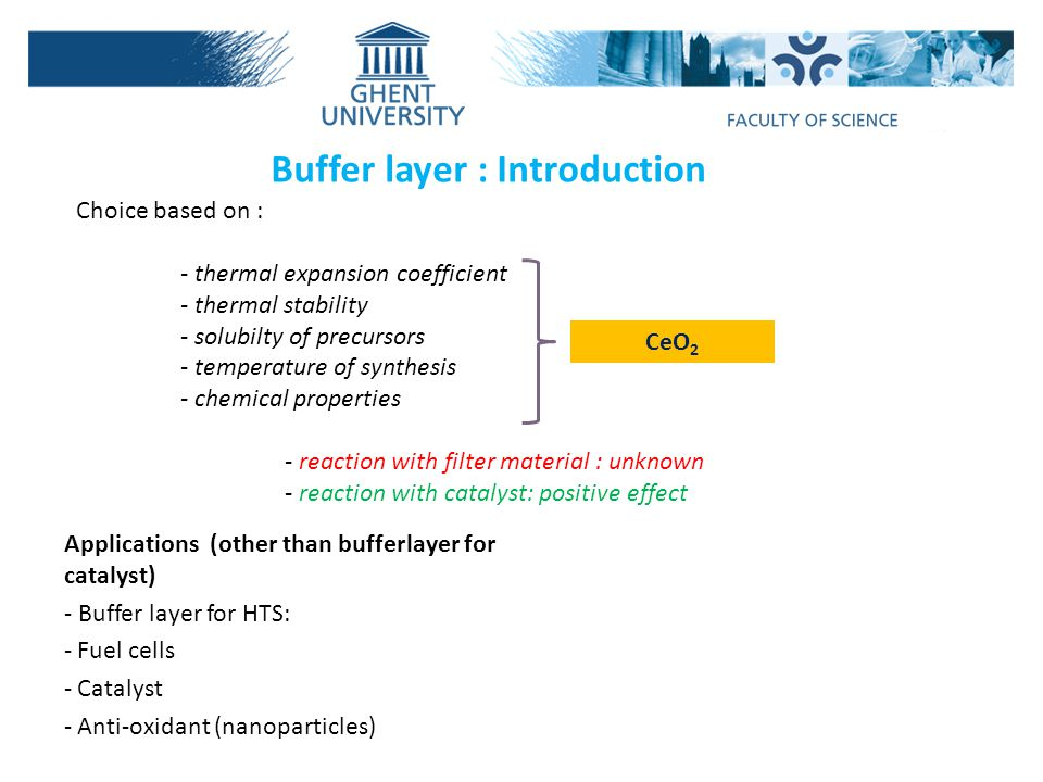 Buffer layer : Introduction