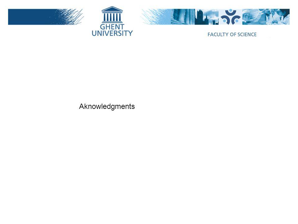 Aknowledgments