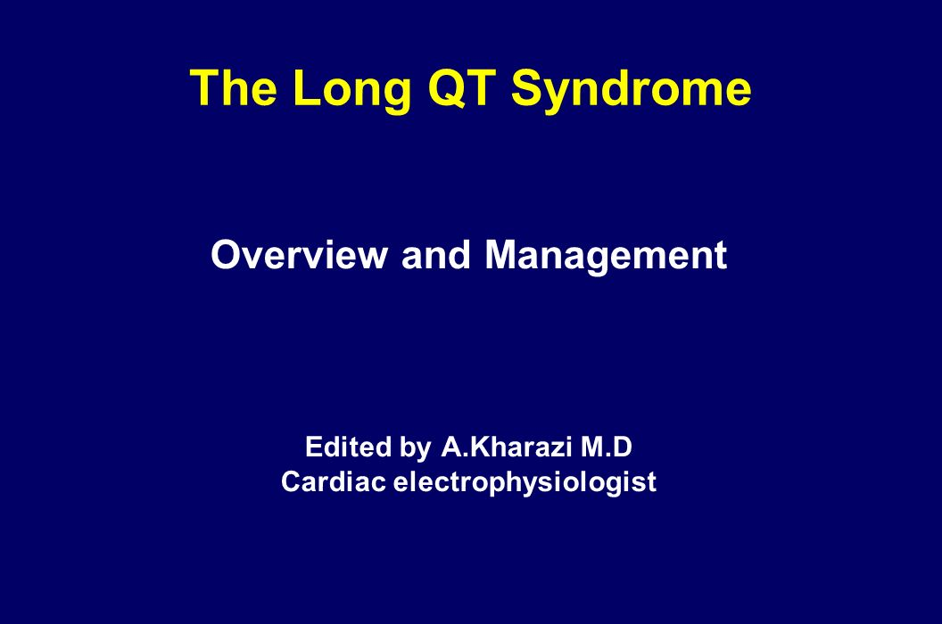 Overview and Management Cardiac electrophysiologist