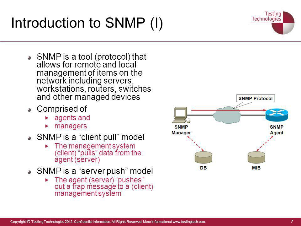 Introduction to SNMP (I)
