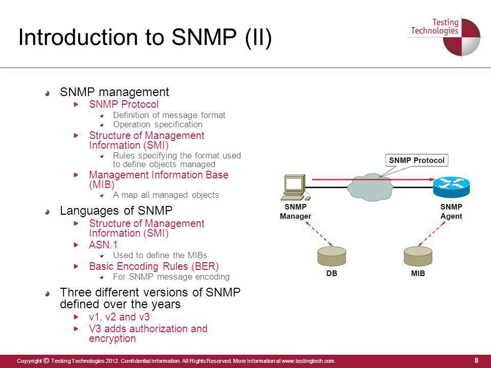 Introduction to SNMP (II)