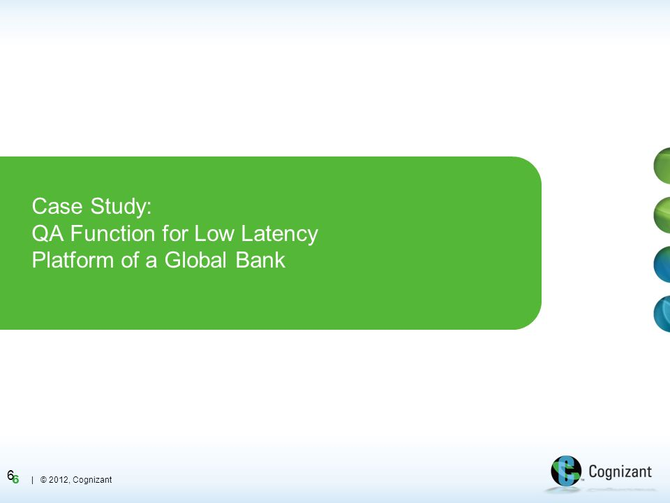 Case Study: QA Function for Low Latency Platform of a Global Bank