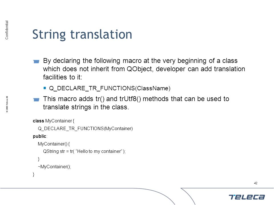 String translation