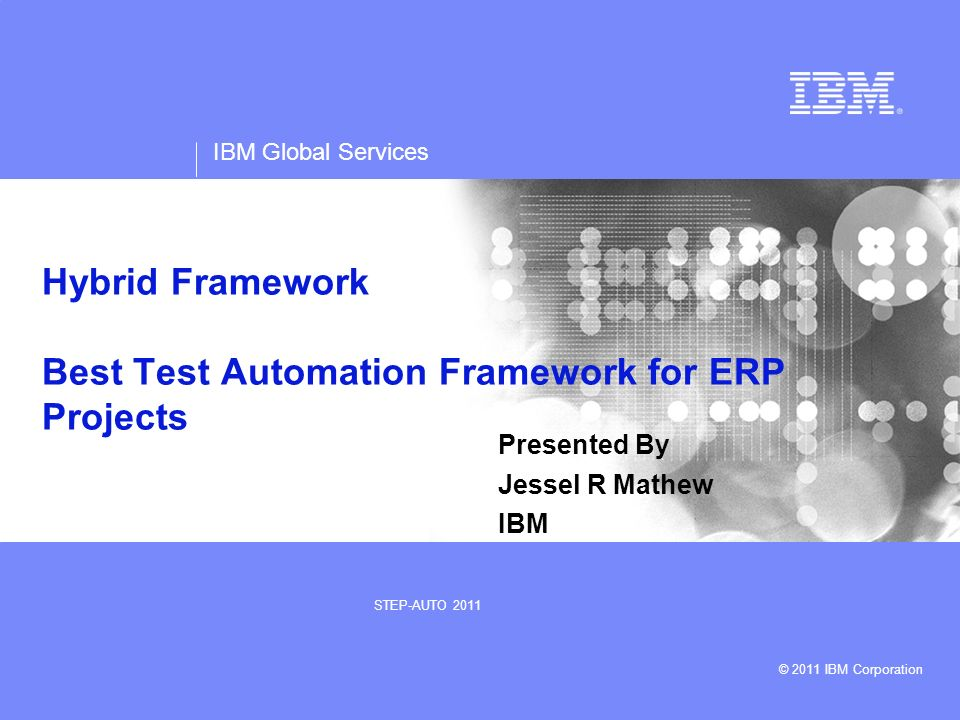 Hybrid Framework Best Test Automation Framework for ERP Projects