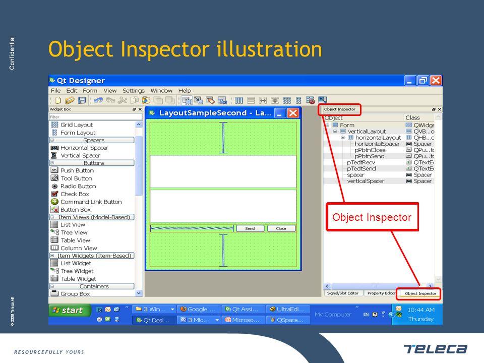 Object Inspector illustration