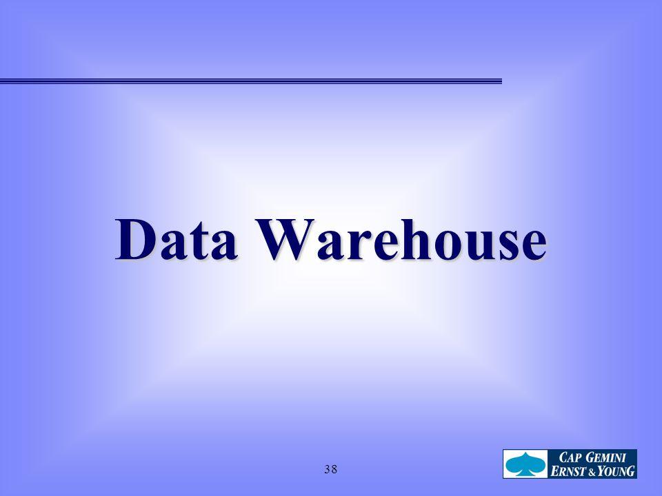 Data Warehouse 38