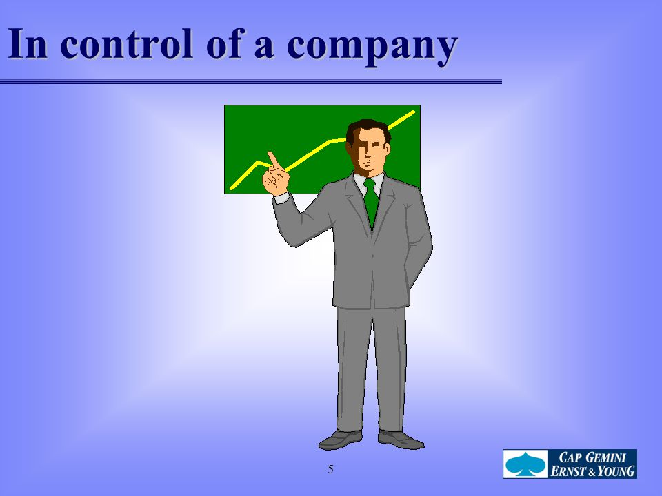 In control of a company 5