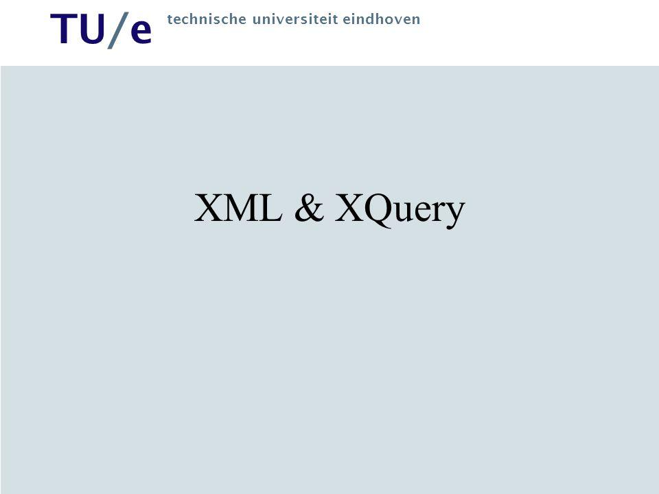XML & XQuery