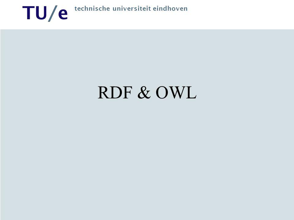 RDF & OWL