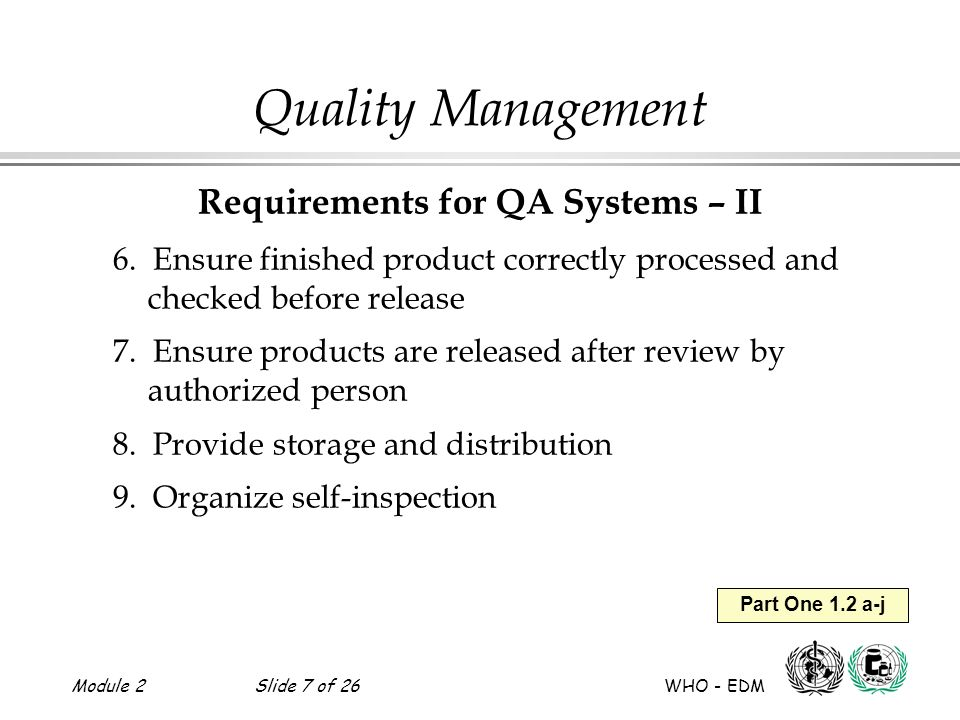 Requirements for QA Systems – II