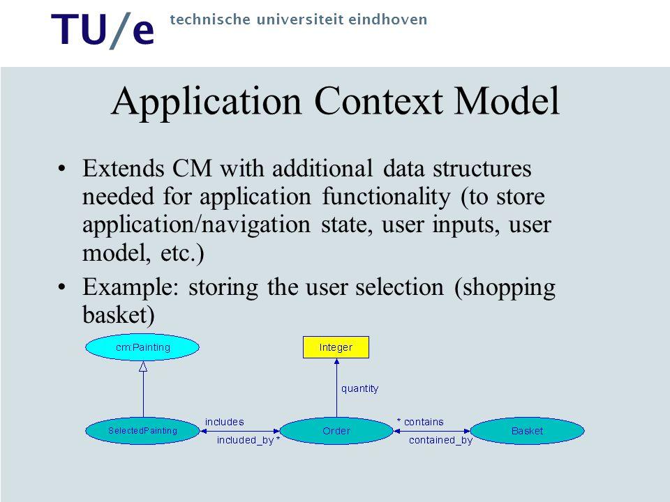 Application Context Model