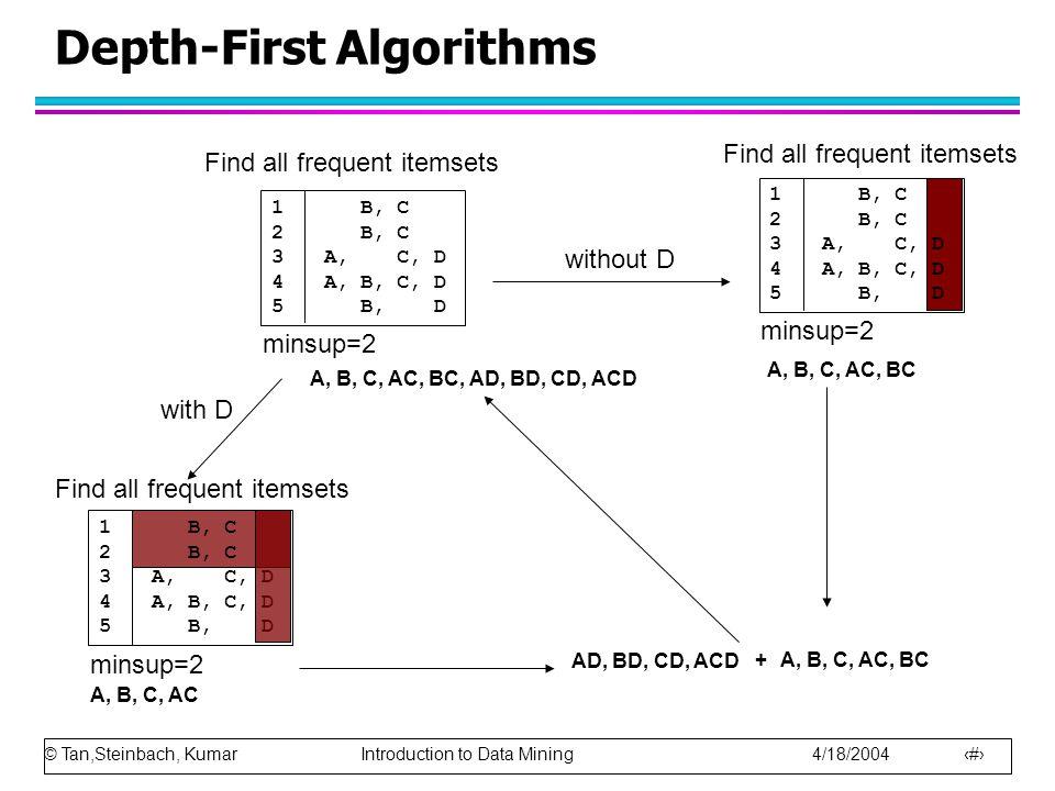 Depth-First Algorithms