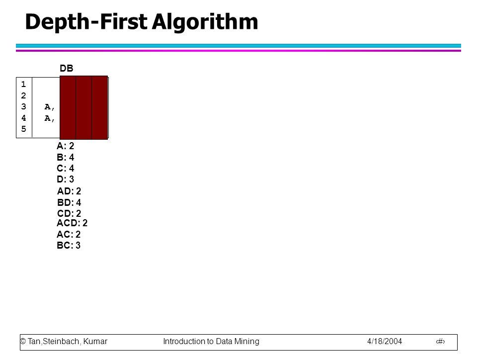 Depth-First Algorithm