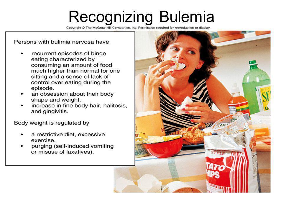 Recognizing Bulemia