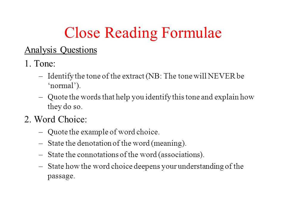 Close Reading Core Skills ppt download
