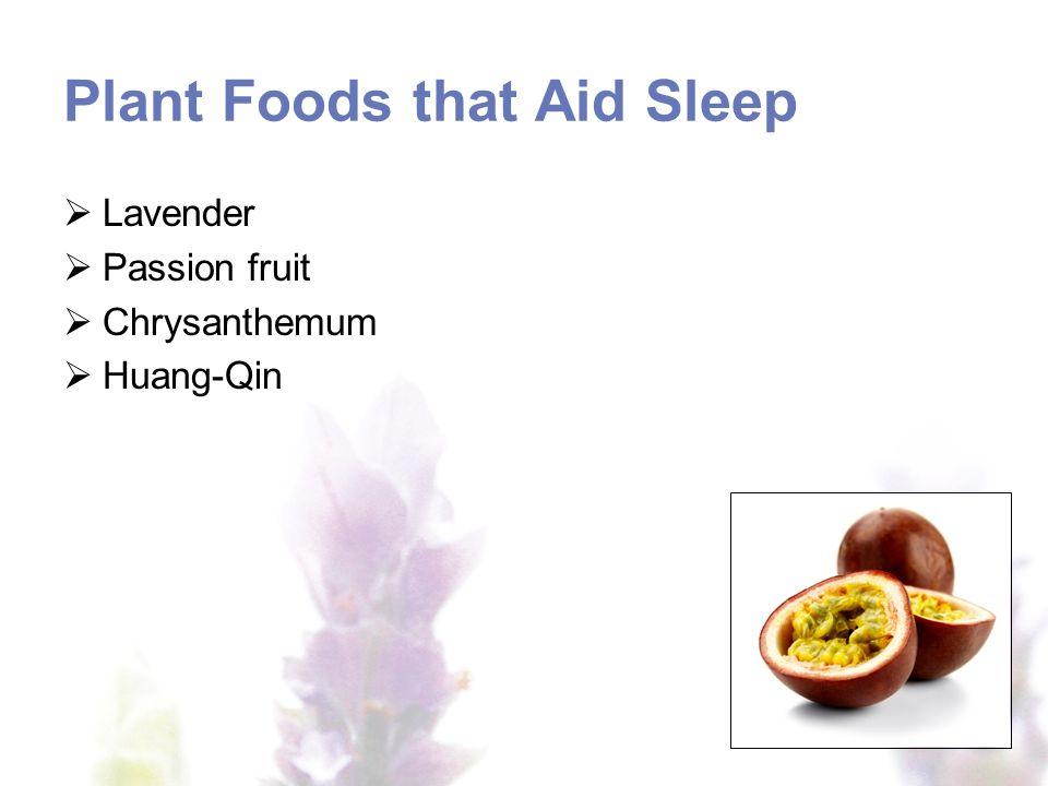 Plant Foods that Aid Sleep