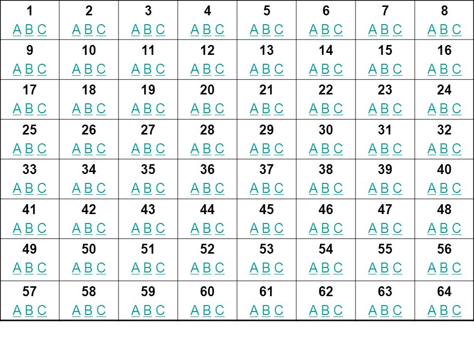 1A B C. 2. 3. 4. 5. 6. 7. 8. 9. 10. 11. 12. 13. 14. 15. 16. 17. 18. 19. 20. 21. 22. 23. 24. 25. 26.