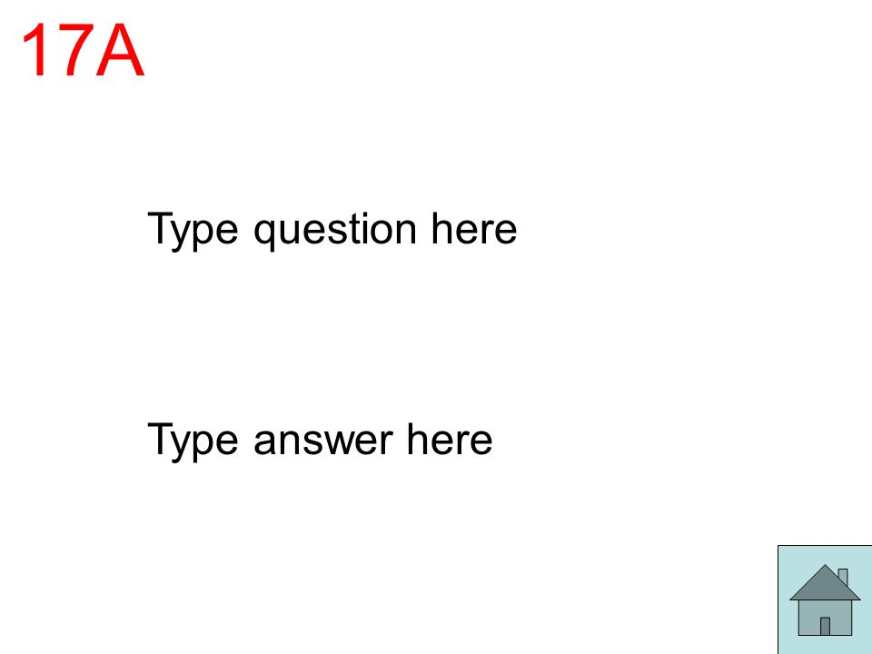 17A Type question here Type answer here