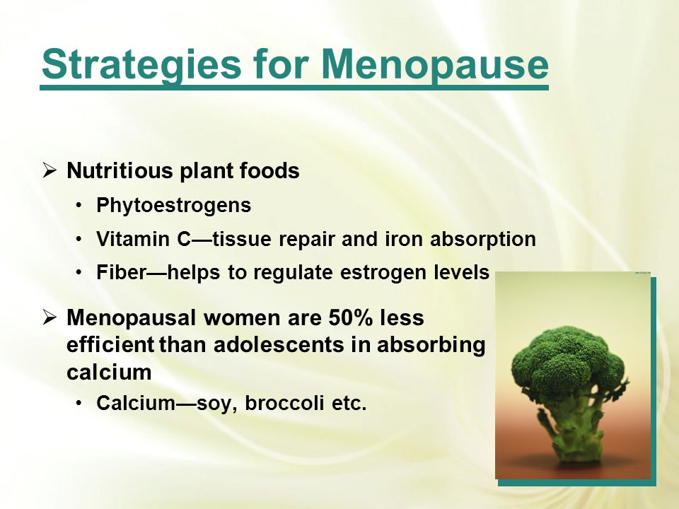 Strategies for Menopause