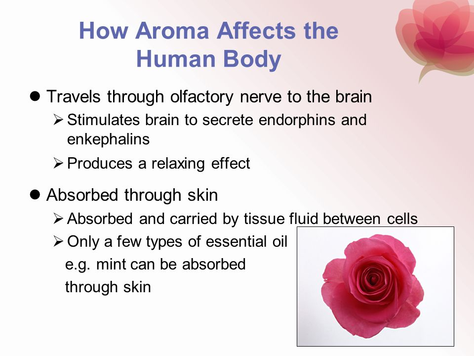 How Aroma Affects the Human Body