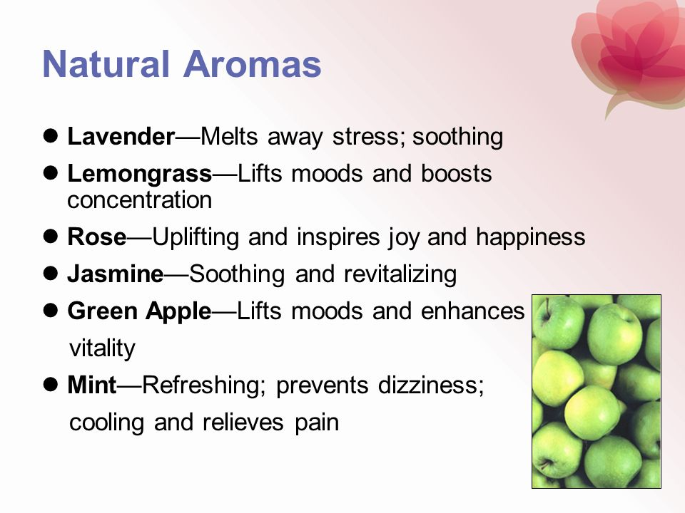 Natural Aromas Lavender—Melts away stress; soothing