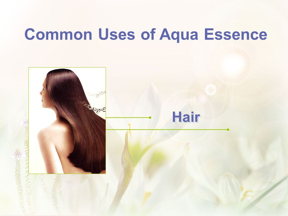 Common Uses of Aqua Essence