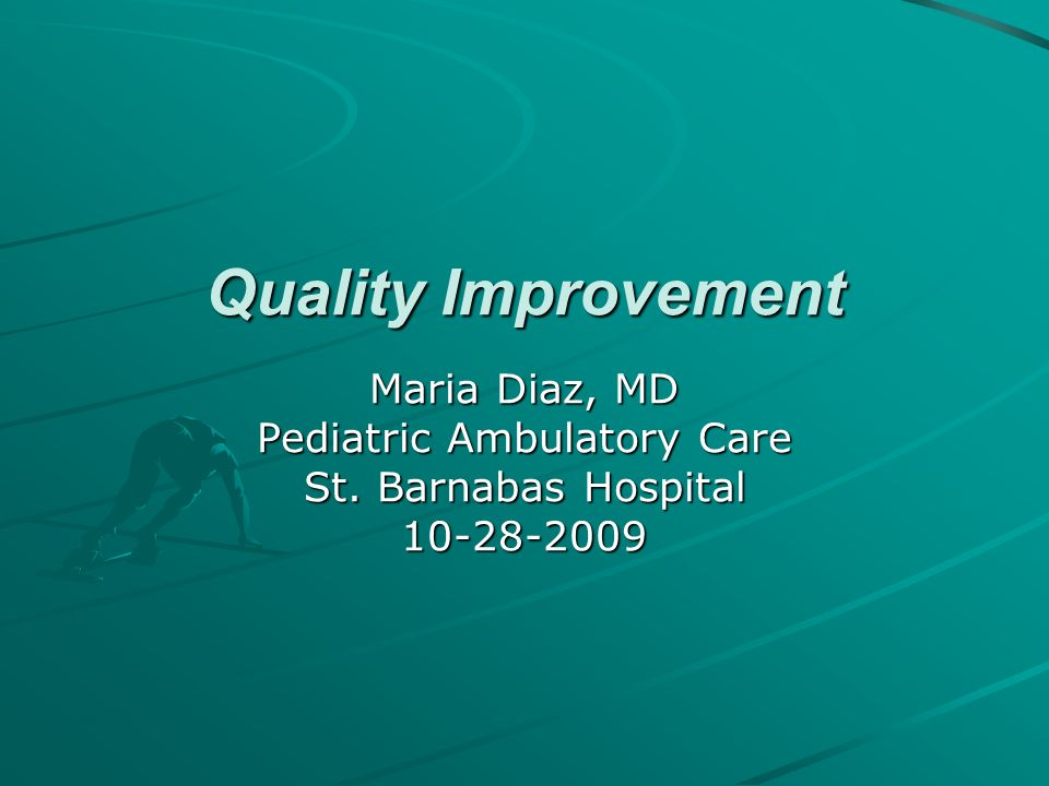 Pediatric Ambulatory Care