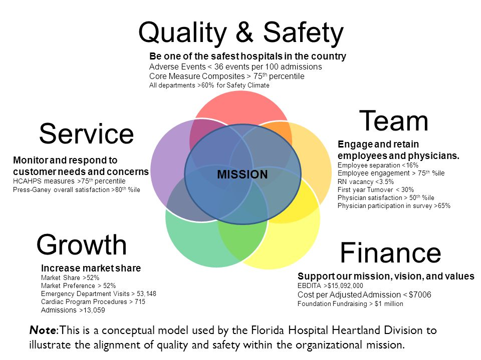 Quality & Safety Team Service Growth Finance MISSION