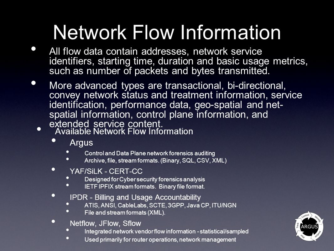 Network Flow Information
