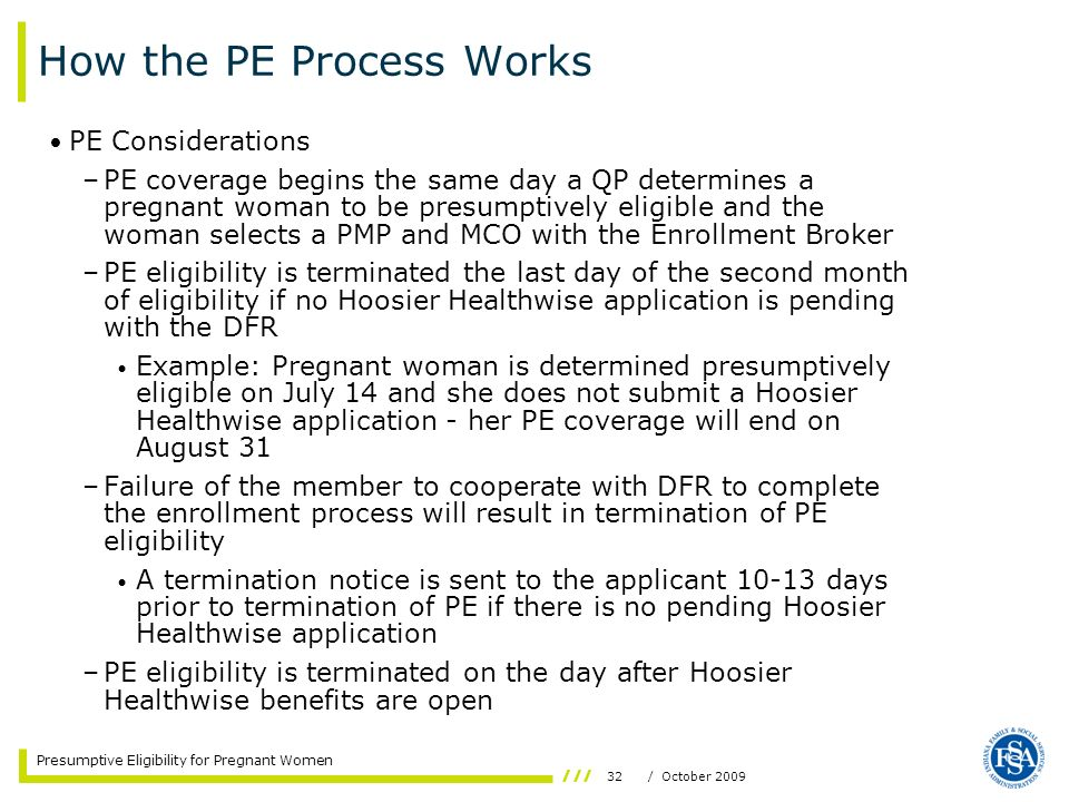 How the PE Process Works