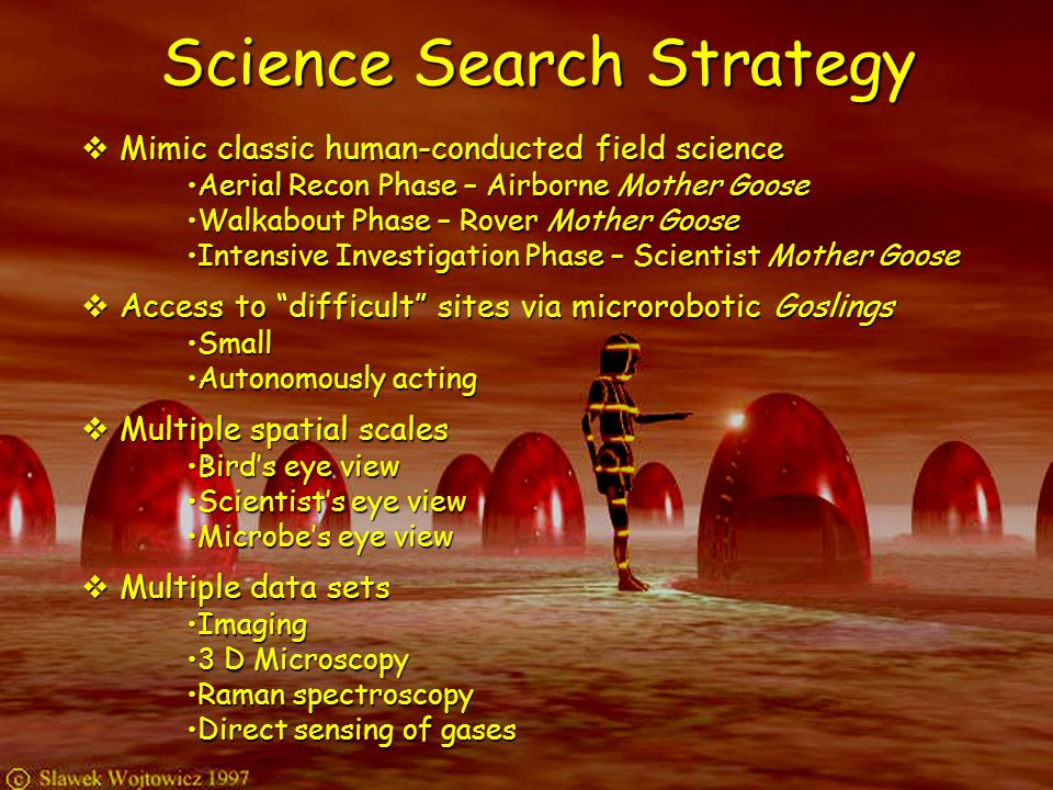 Science Search Strategy