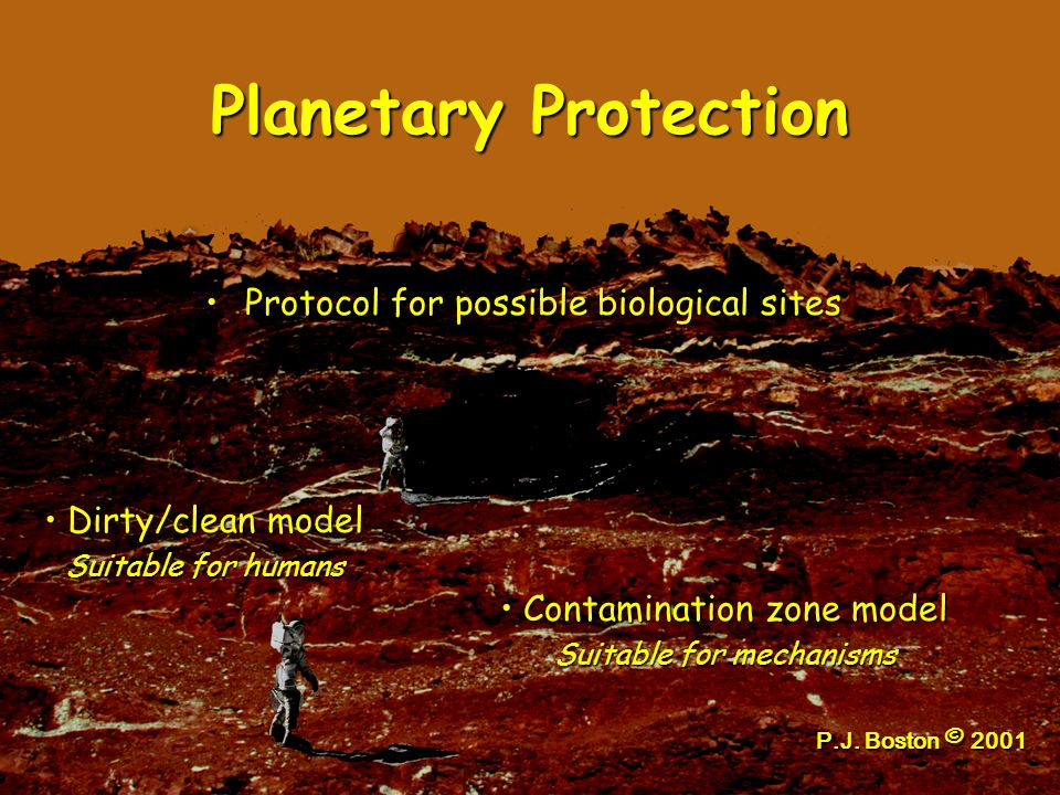 Planetary Protection Protocol for possible biological sites
