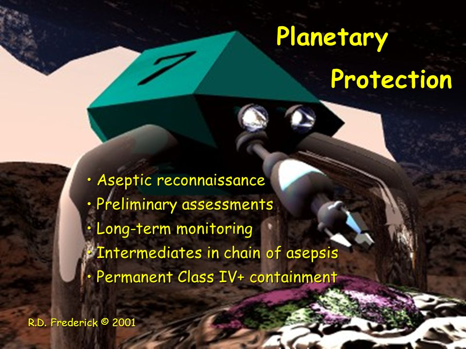 Planetary Protection Aseptic reconnaissance Preliminary assessments