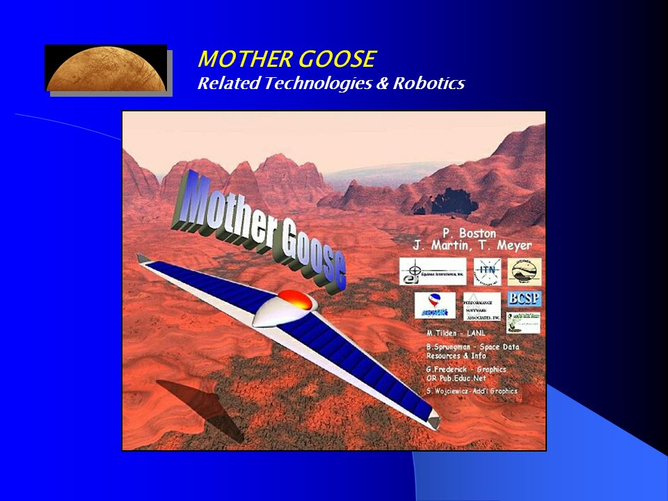 MOTHER GOOSE Related Technologies & Robotics