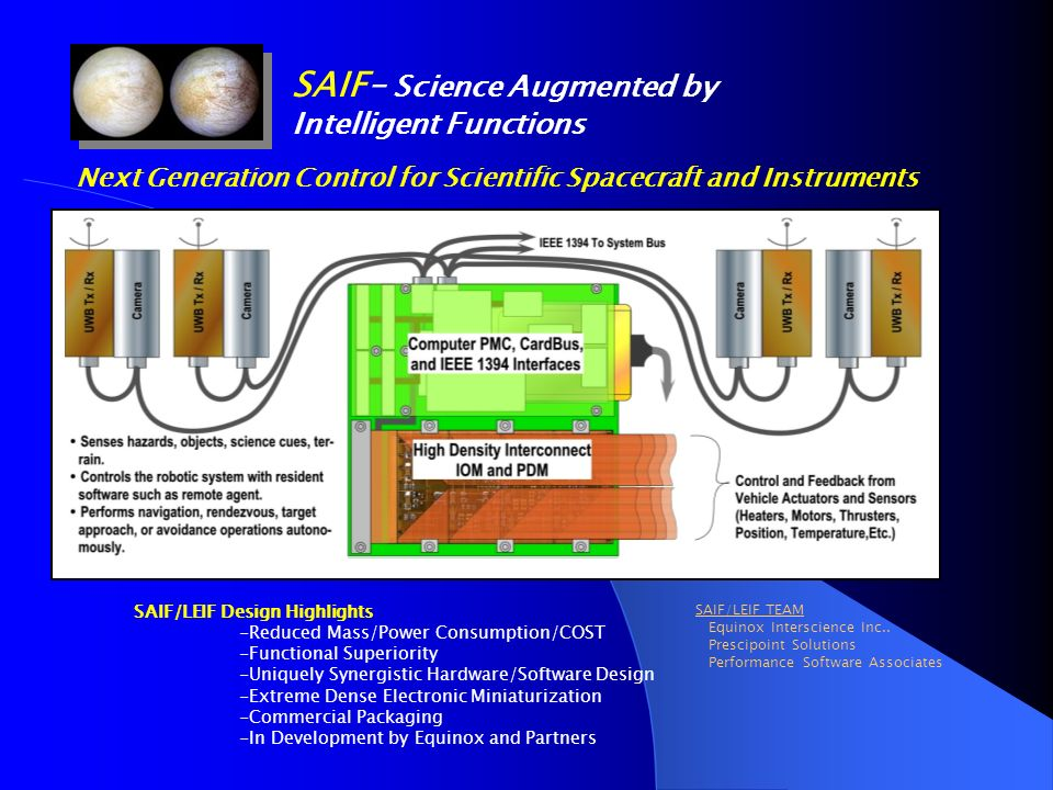 Next Generation Control for Scientific Spacecraft and Instruments