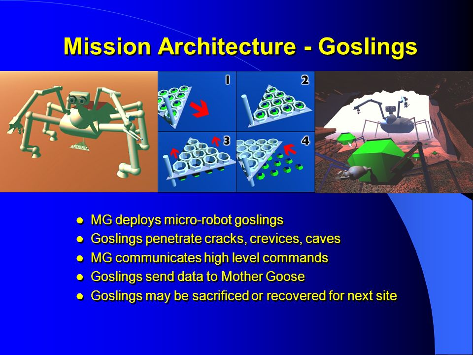 Mission Architecture - Goslings
