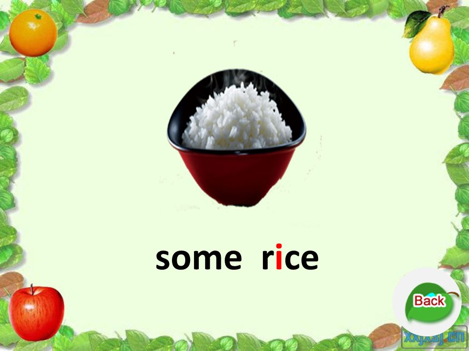 some rice