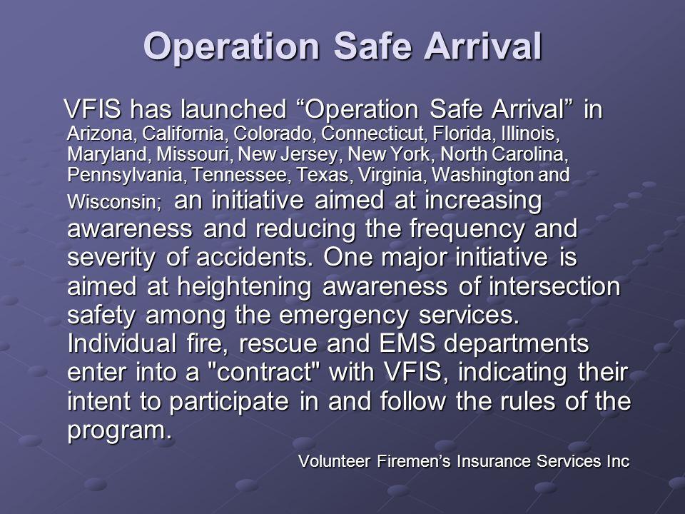 Operation Safe Arrival