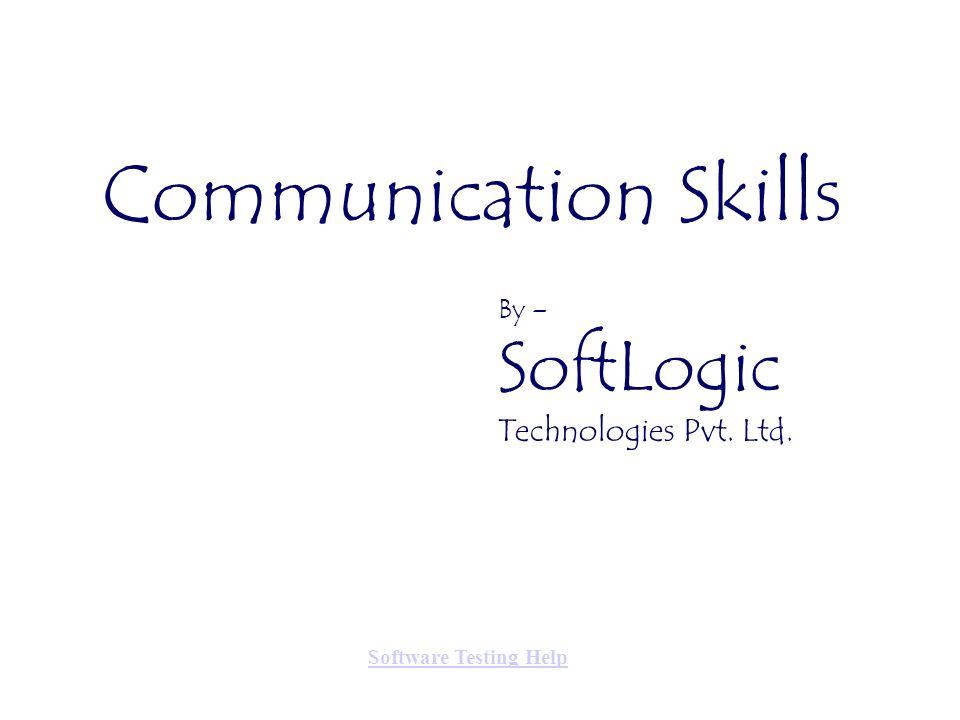Communication Skills Technologies Pvt. Ltd. By – SoftLogic