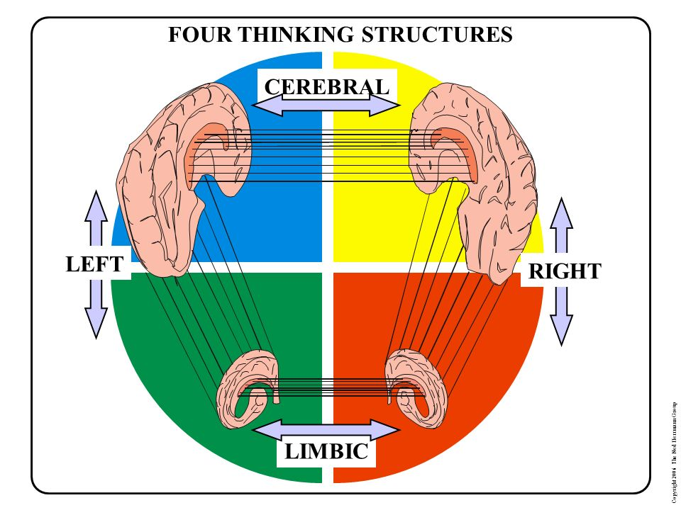 FOUR THINKING STRUCTURES