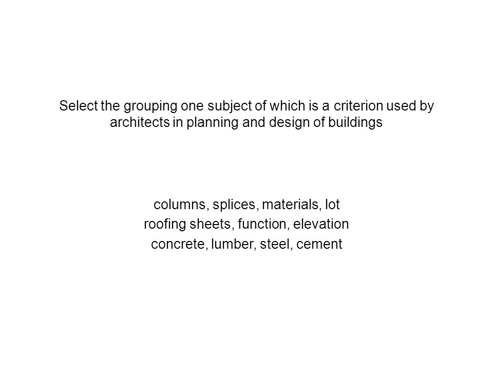columns, splices, materials, lot roofing sheets, function, elevation