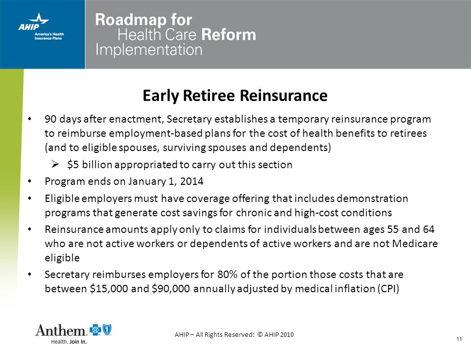 Early Retiree Reinsurance