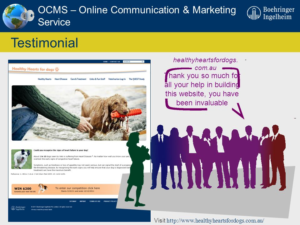 Testimonial OCMS – Online Communication & Marketing Service