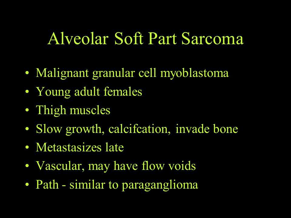 Alveolar Soft Part Sarcoma