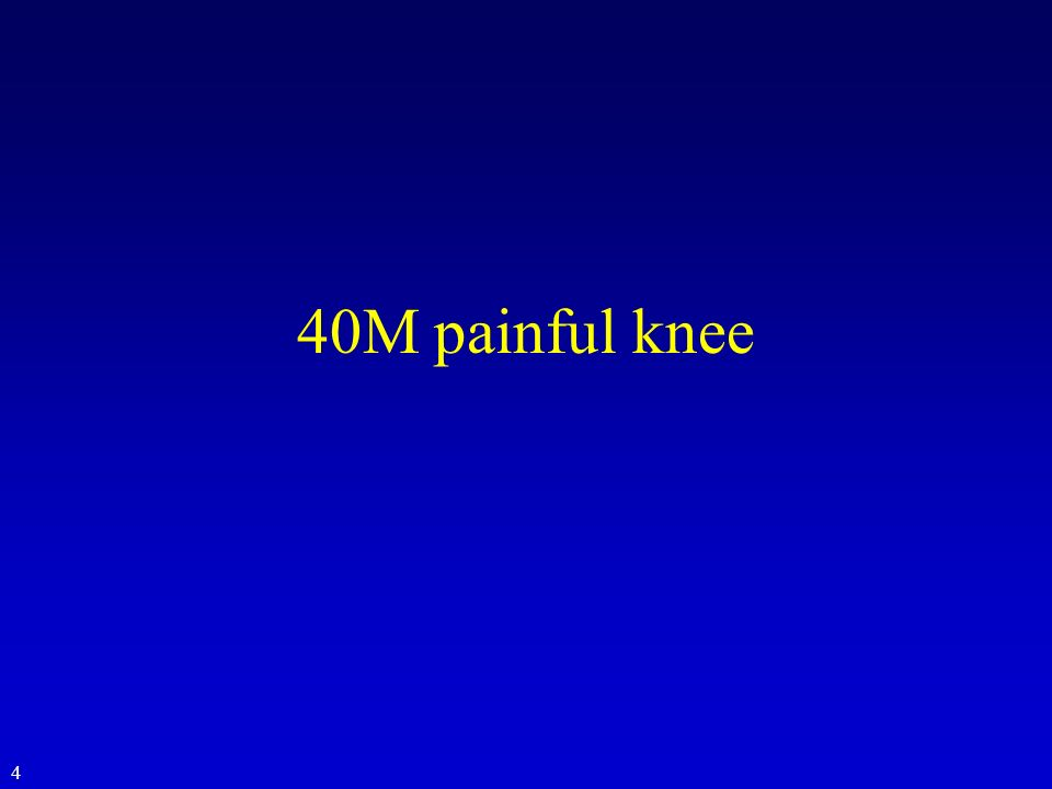 40M painful knee 4
