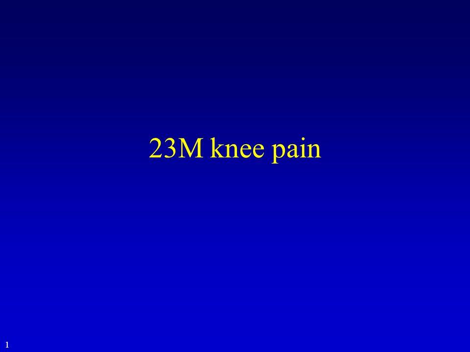 23M knee pain 1