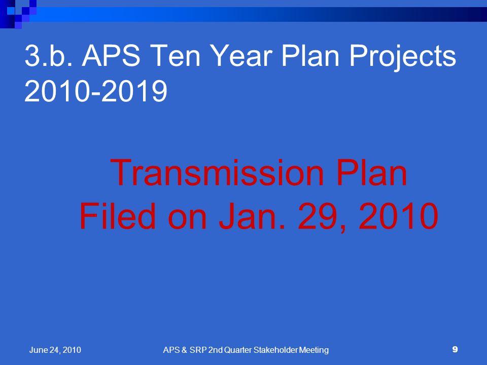 3.b. APS Ten Year Plan Projects 2010-2019