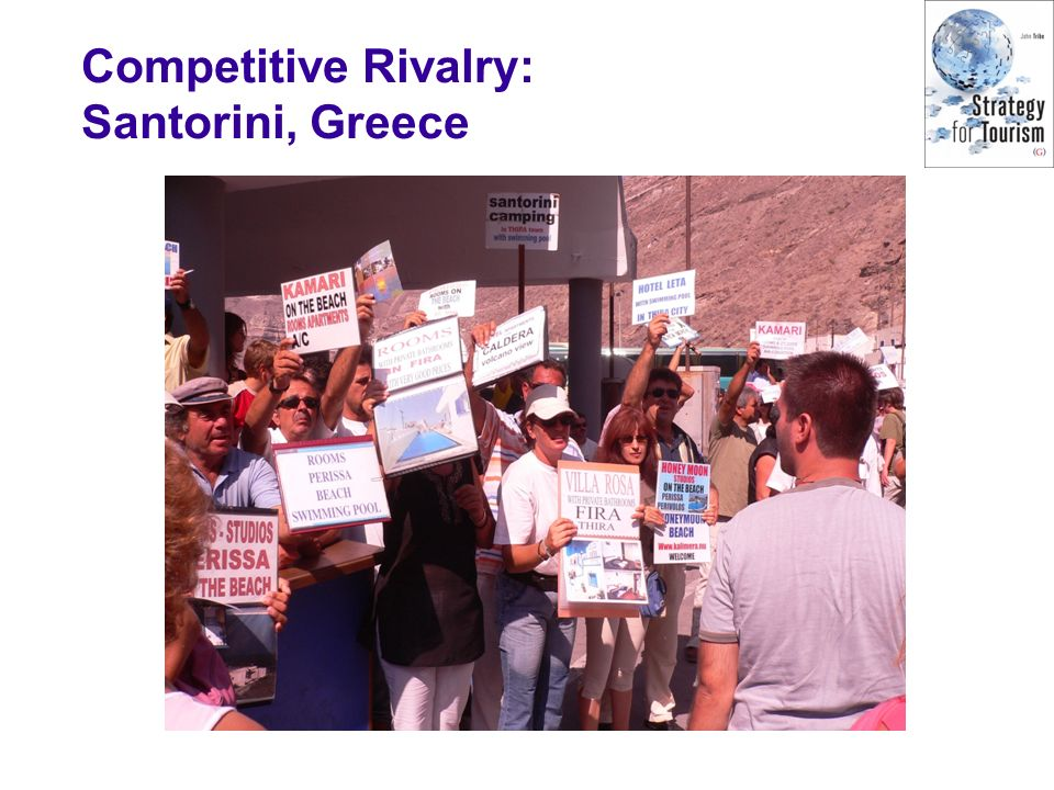 Competitive Rivalry: Santorini, Greece