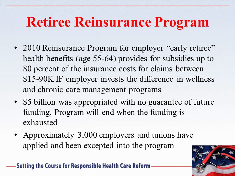 Retiree Reinsurance Program